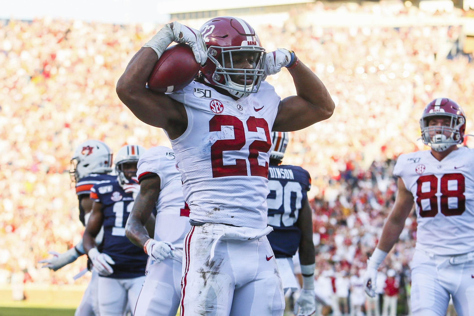 Pff Names Najee Harris The 4th Best Rb In 2021 Nfl Draft