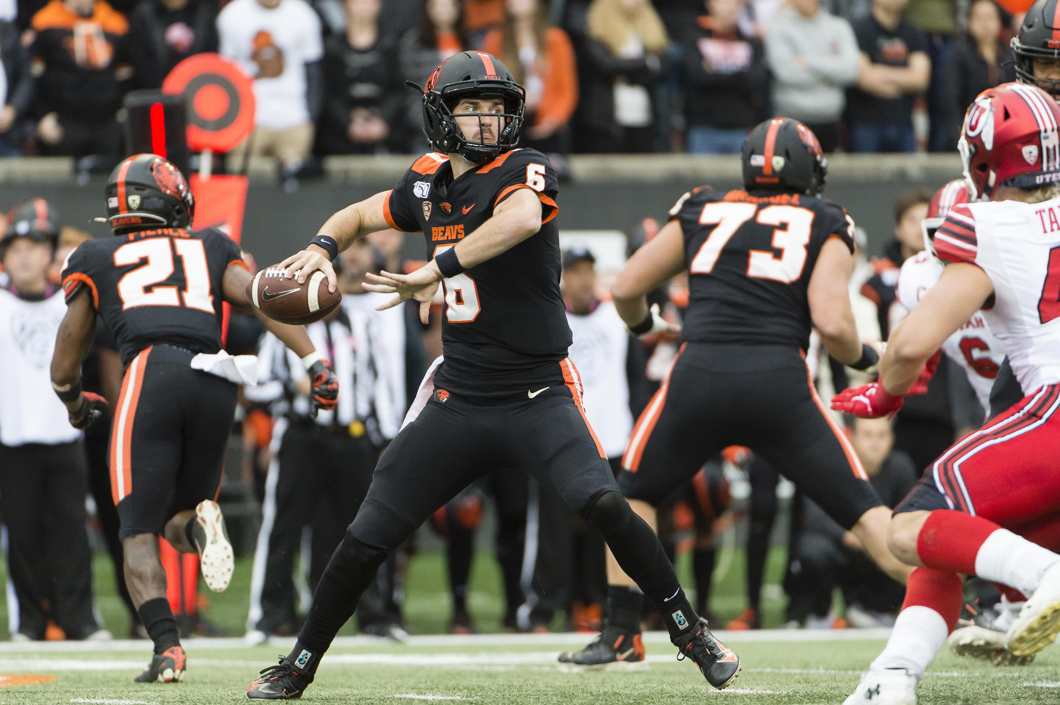 cal oregon state betting line