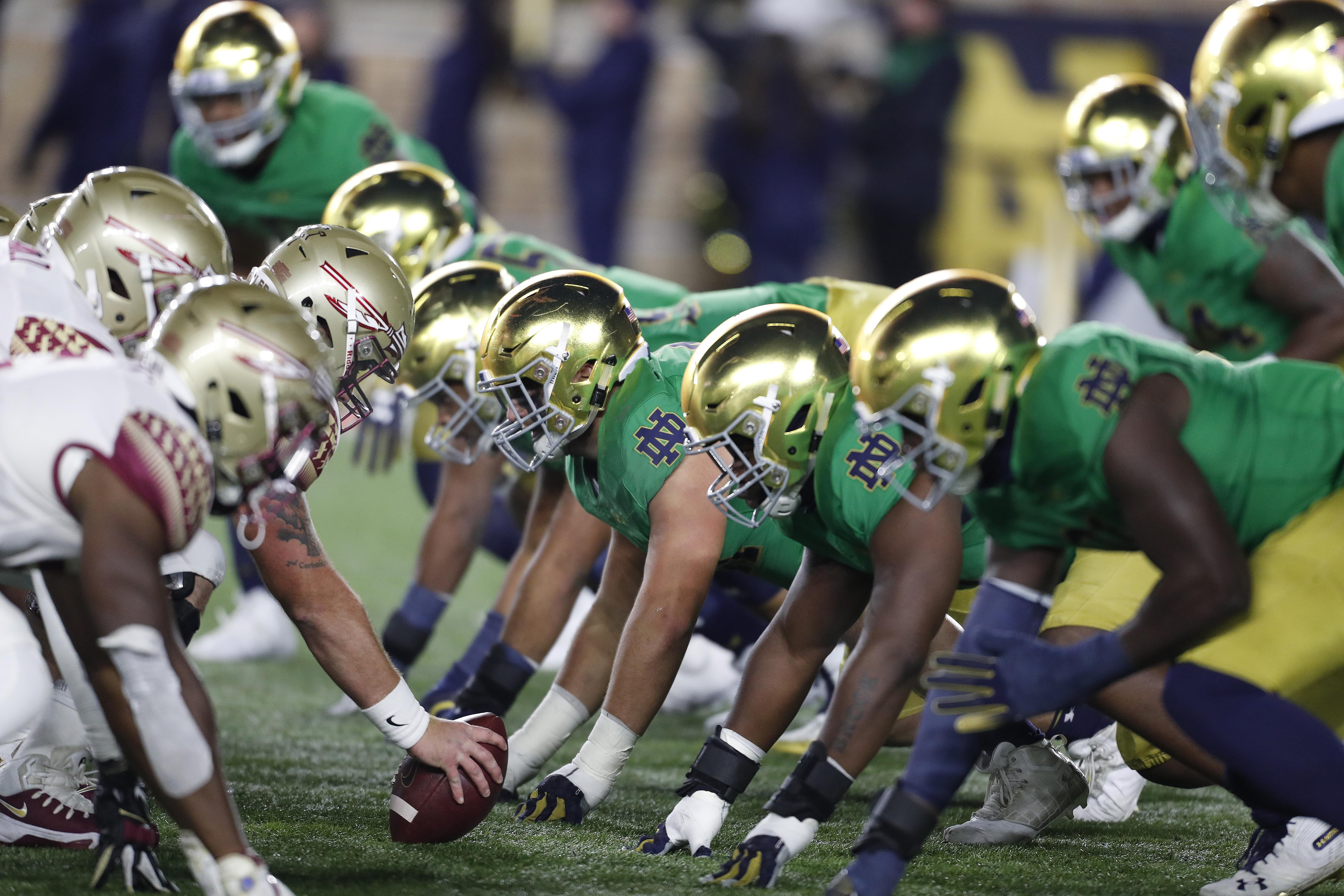 Notre Dame Football Teases Green Uniforms For 2019