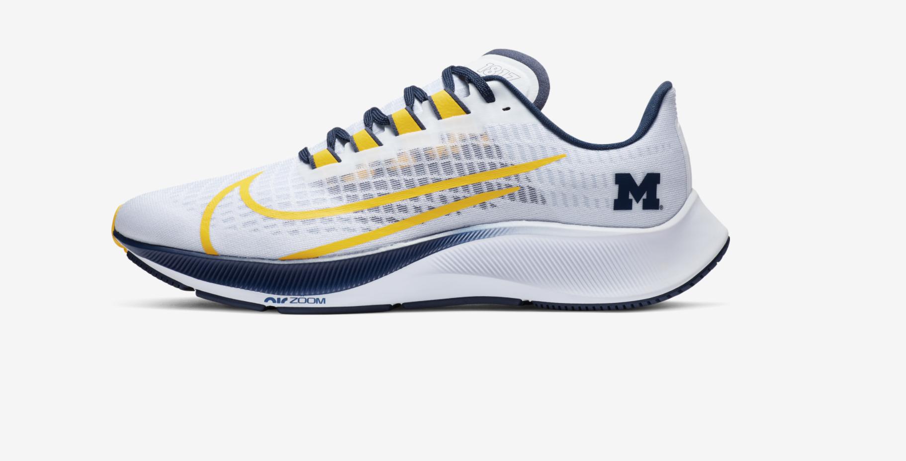 Michigan Wolverines Nike Air Pegasus 37