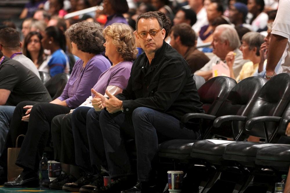 Tom Hanks, basketball