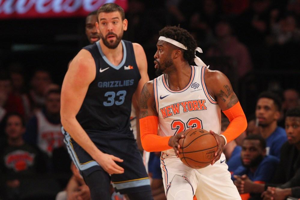 Wesley Matthews, New York Knicks