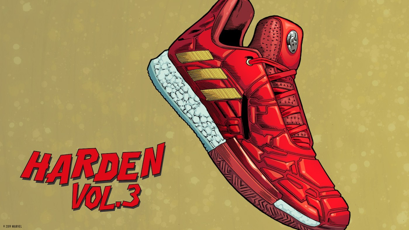 Adidas Hoops x Avengers collaboration
