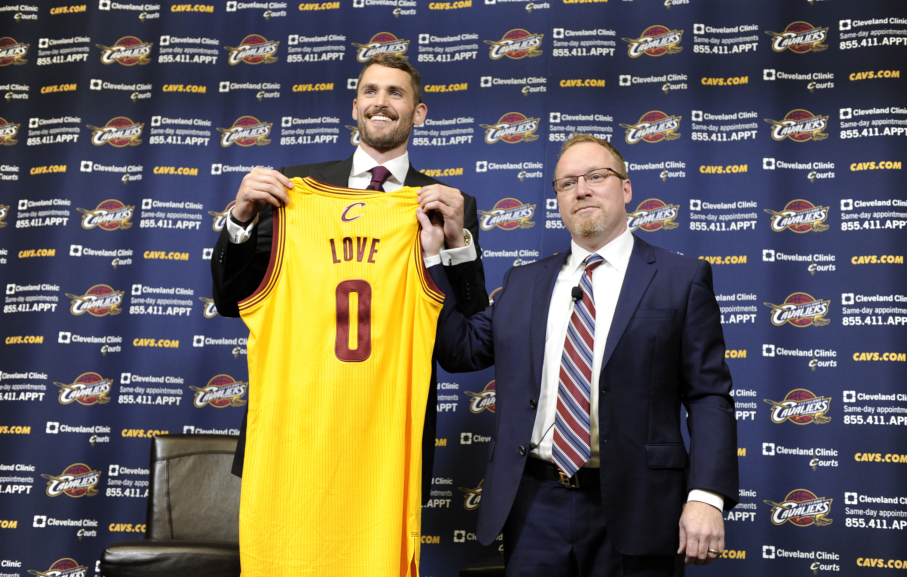 Kevin Love David Griffin