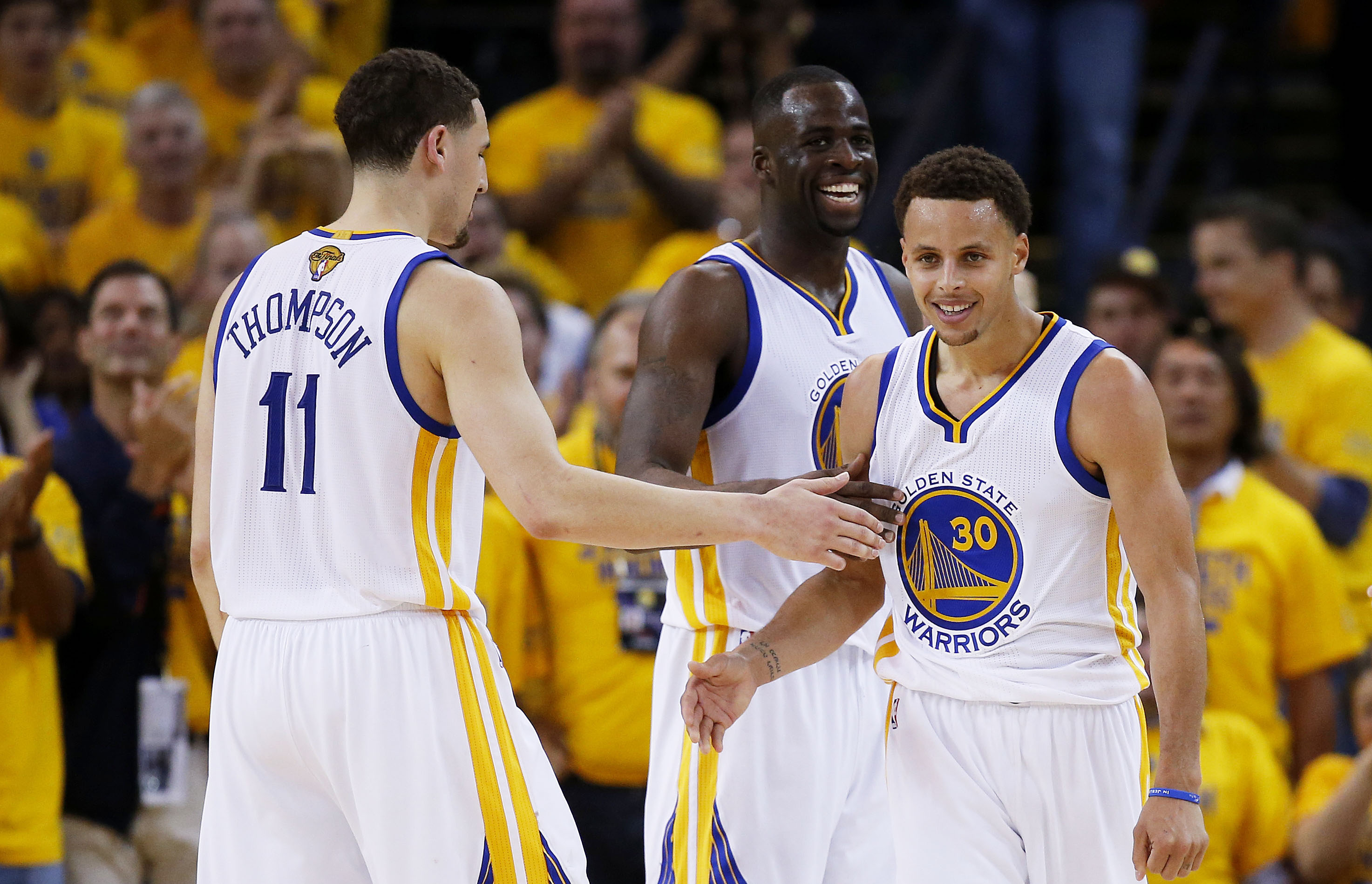 Klay Thompson Draymond Green Stephen Curry