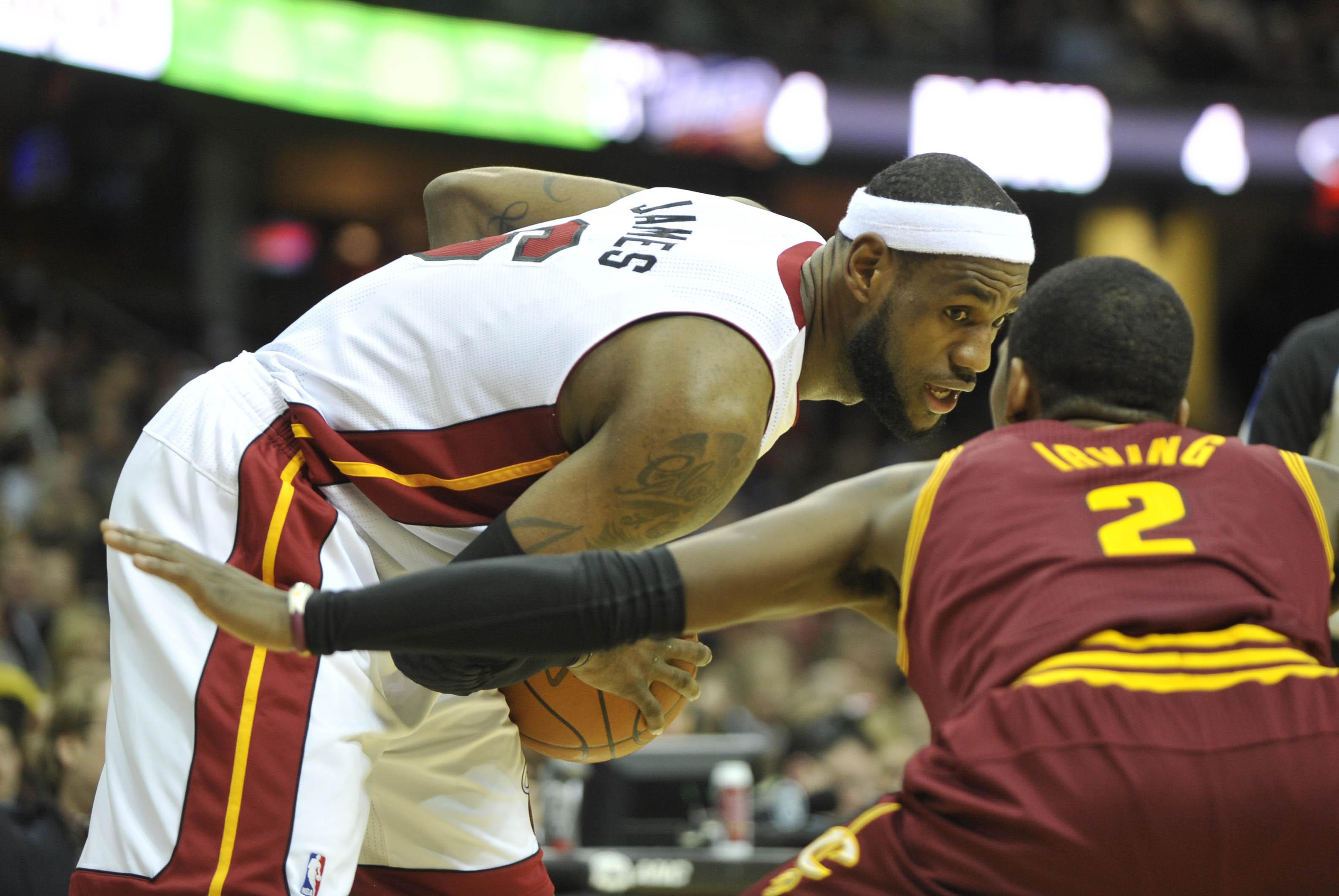 LeBron James Heat 2012