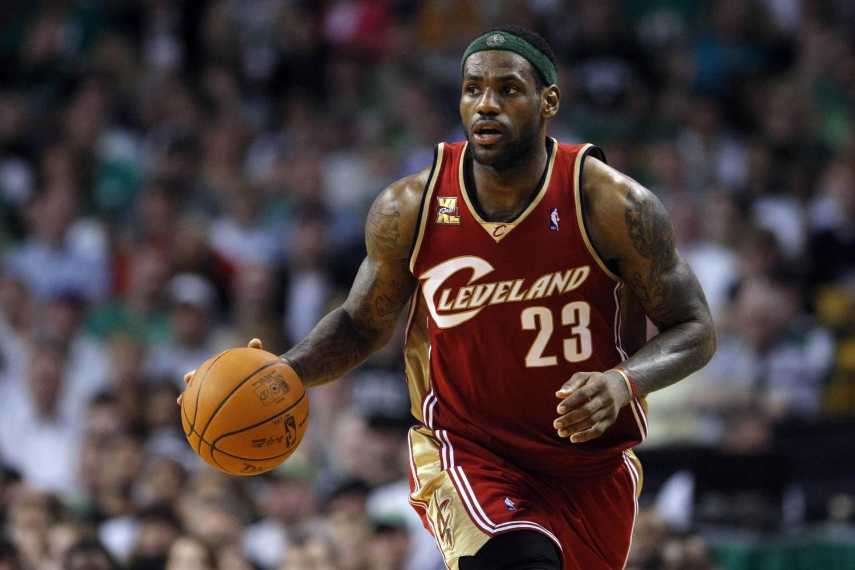 LeBron James Cavaliers 2010