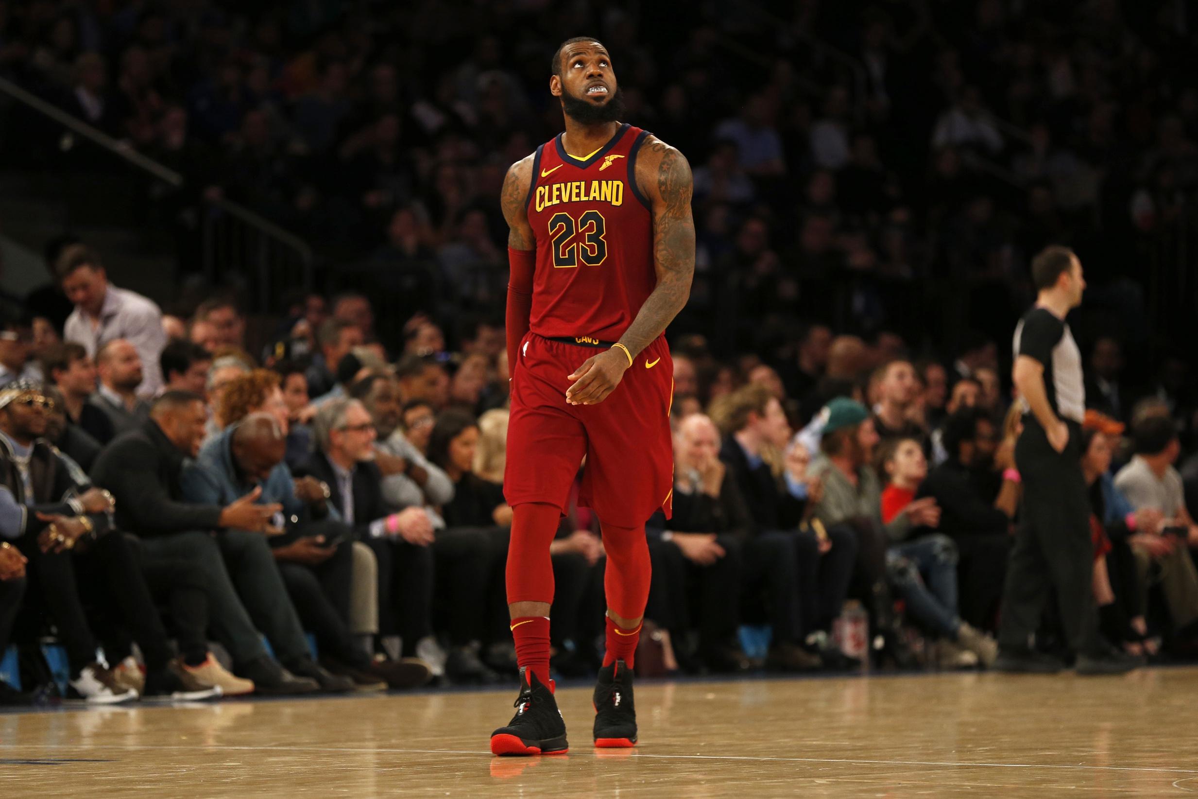 LeBron James Cavaliers 2018