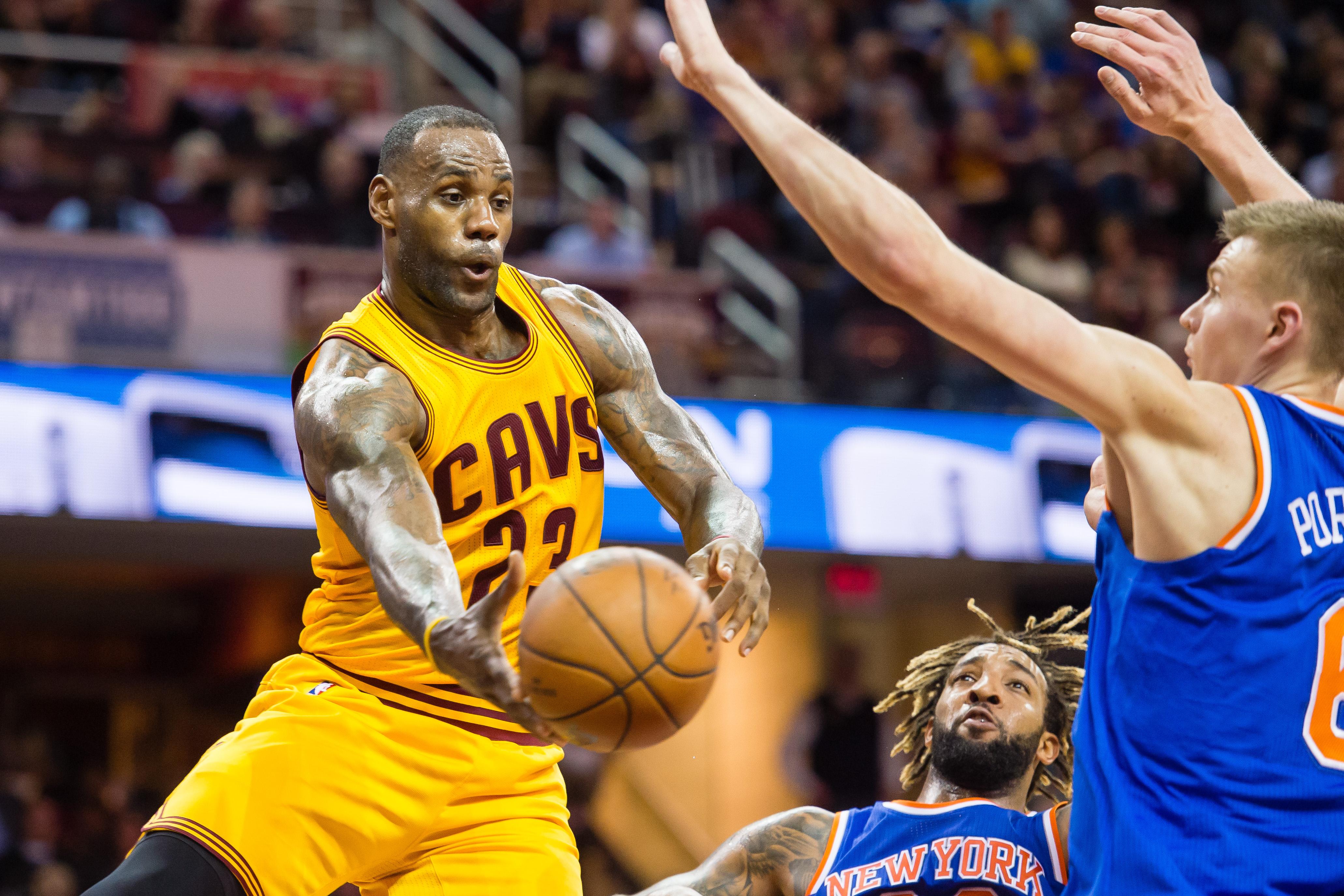 LeBron James Cavaliers 2015