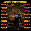 LeBron James greatest season