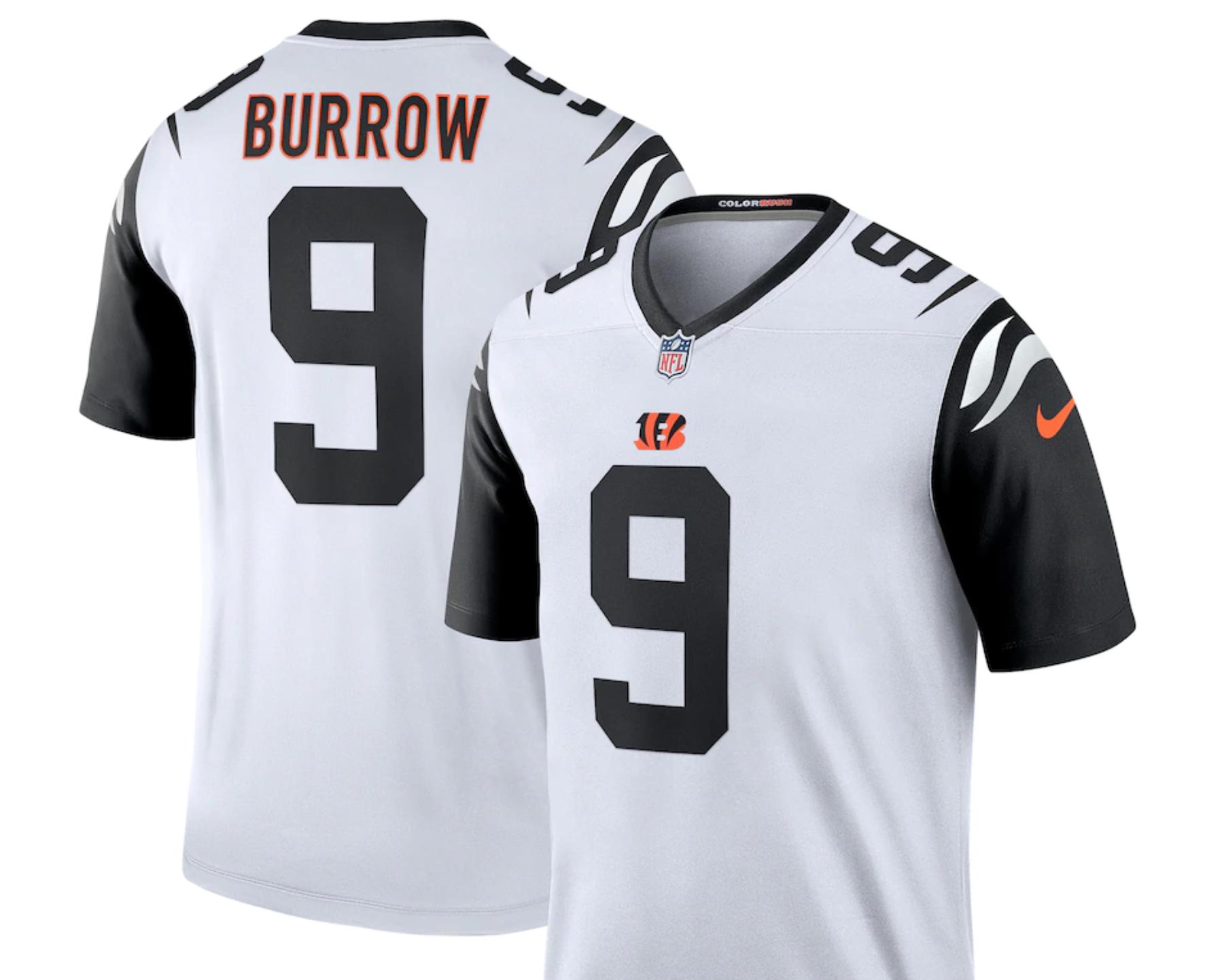 Joe Burrow Jersey, Cincinnati Bengals Jerseys, Where to get them
