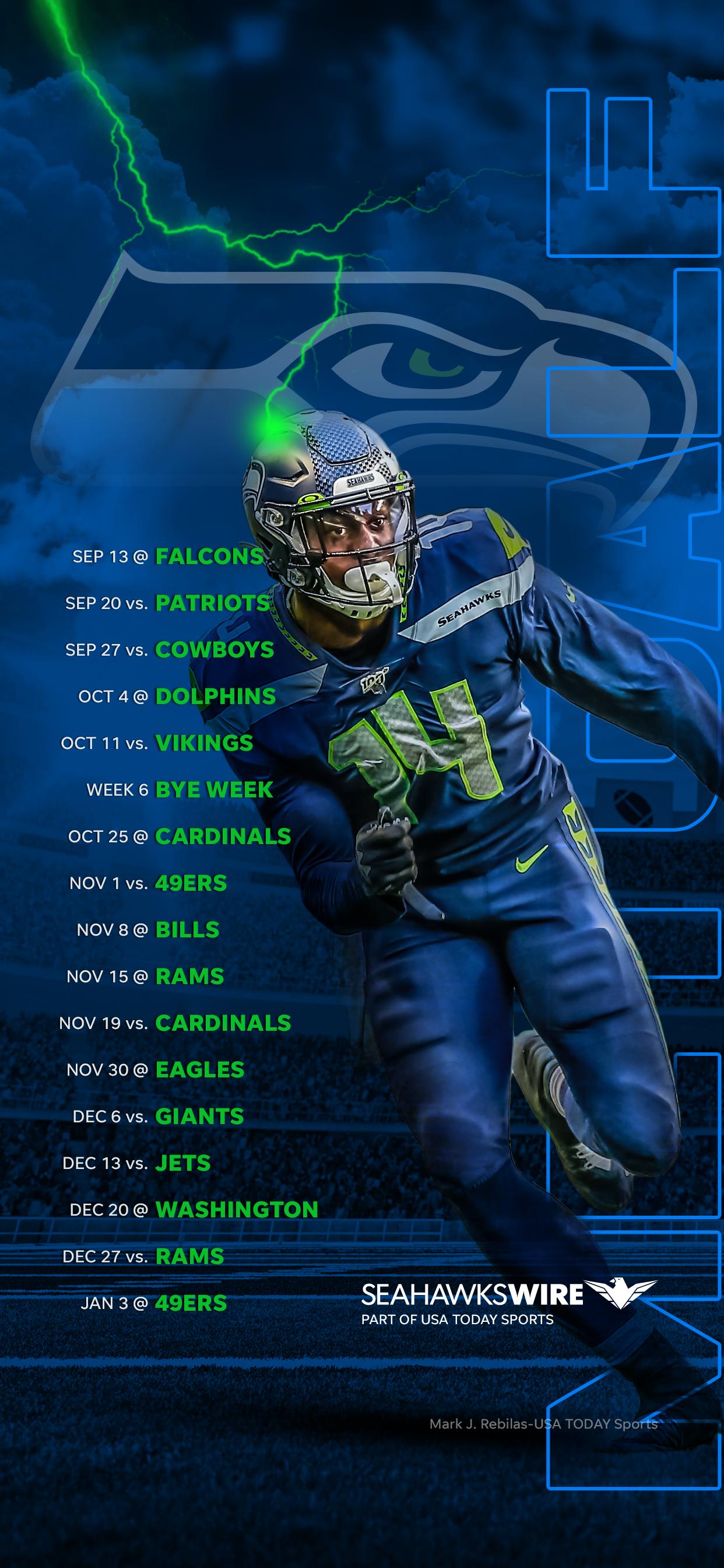 Seattle Seahawks Aufstellung