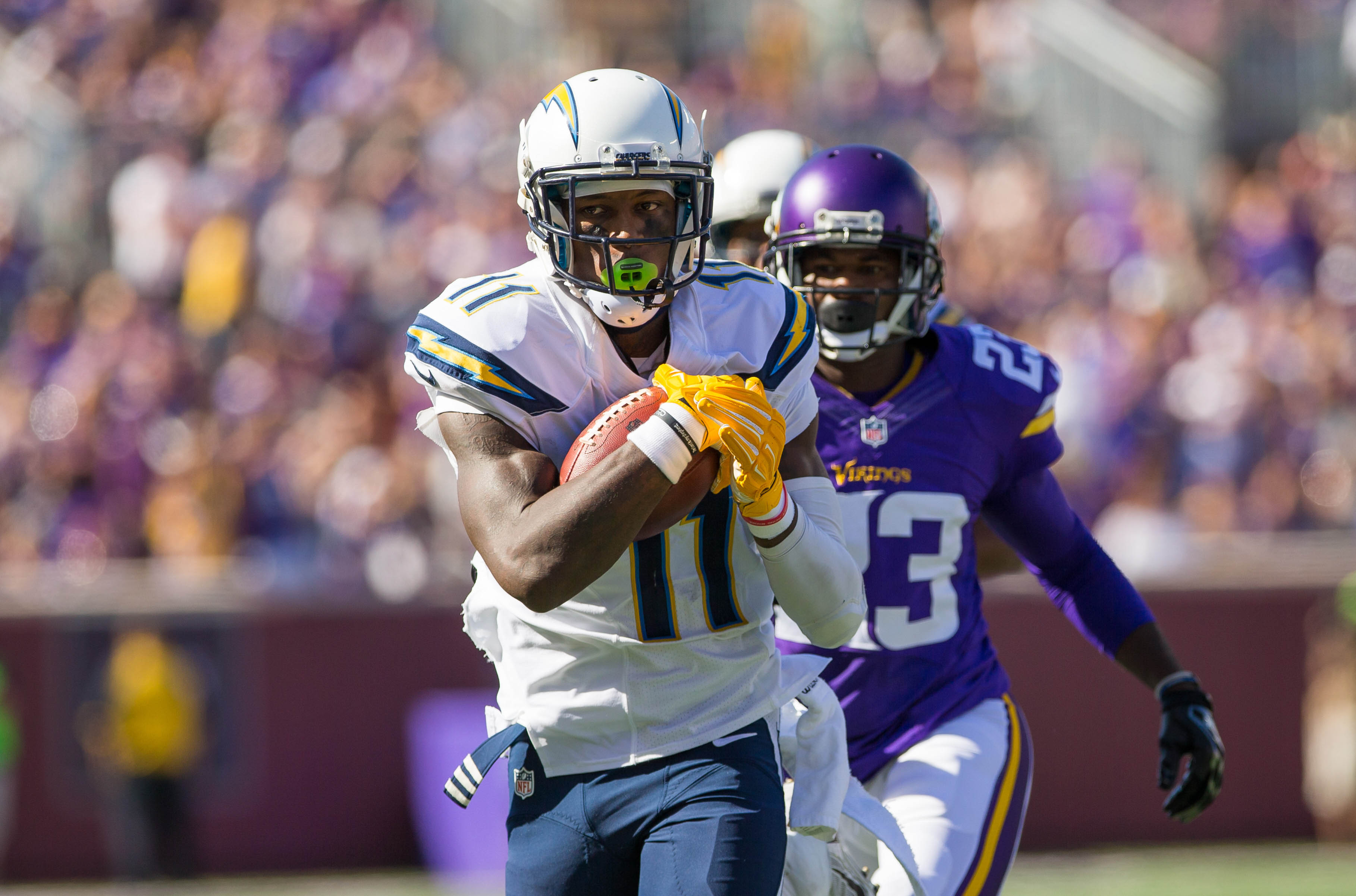 Chargers WR Stevie Johnson looking to recapture the magic against ...