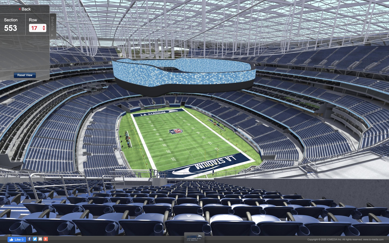 Take a virtual tour of SoFi Stadium ...