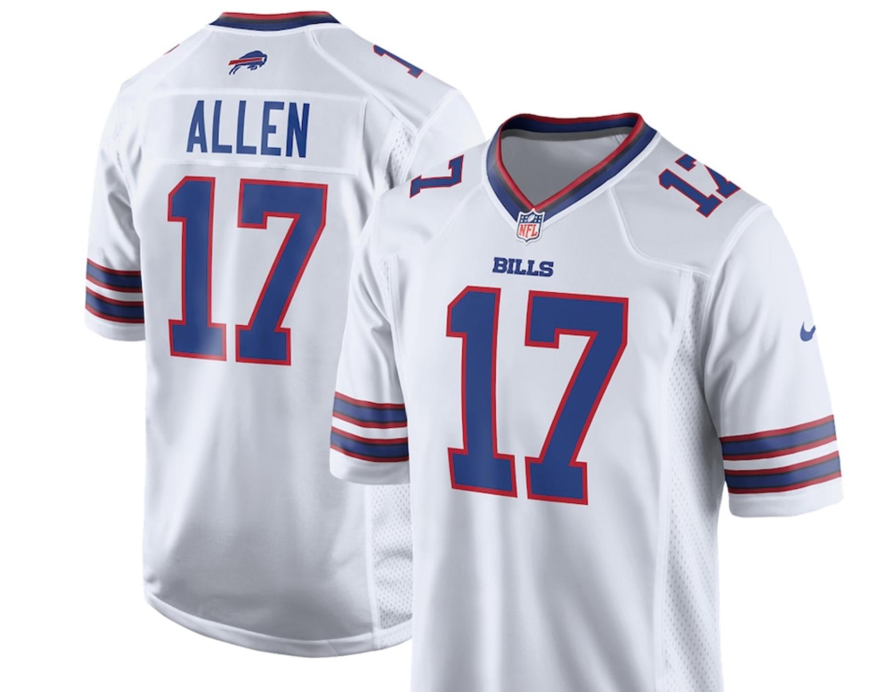 Stefon Diggs Buffalo Bills jersey, New Buffalo Bills jersey's ...
