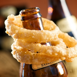 Guinness Beer-Battered Onion Rings