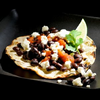 Black Bean Tostadas with Queso Fresca