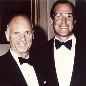Norman Brinker and Rick Berman (early 1980's)