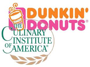 CIA and Dunkin Donuts logos