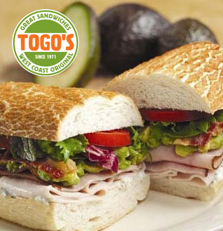 Togo's great sandwiches