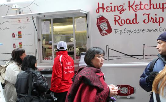 Food sample truck