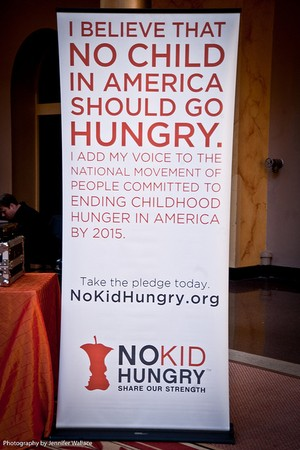 I believe no child in america should go hungry