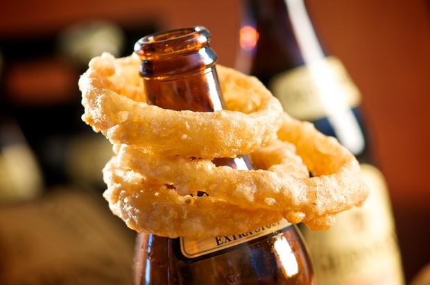 Guinness Beer Battered Onion Rings