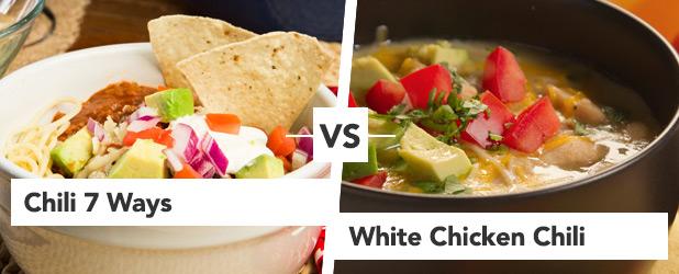 Round 2 Chili 7 Ways vs White Chicken Chili