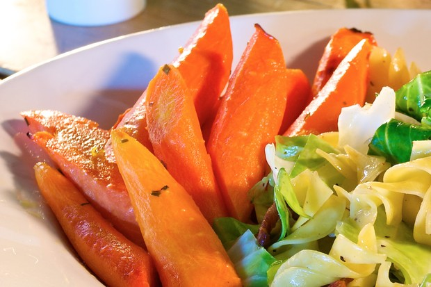 Irish Roasted Sweet Carrots