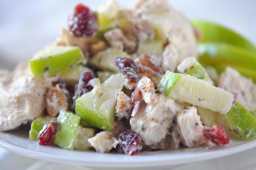 Chicken Cranberry Pecan Salad