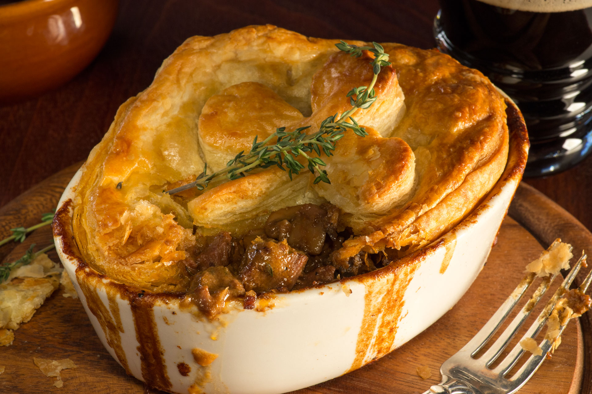 Guiness Beef Stout Pie