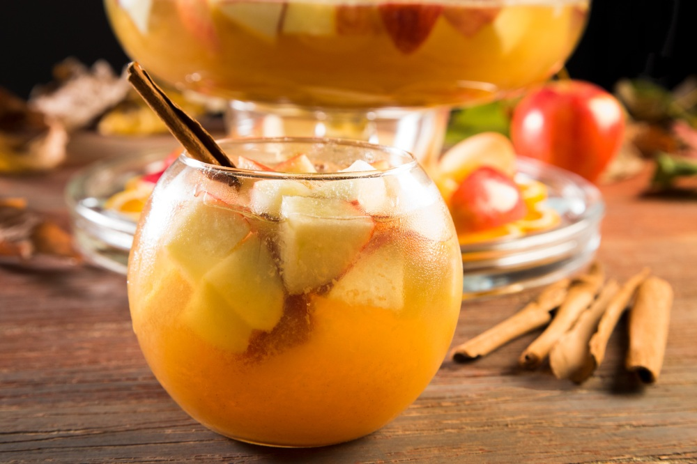 Caramel Apple Orange Sangria