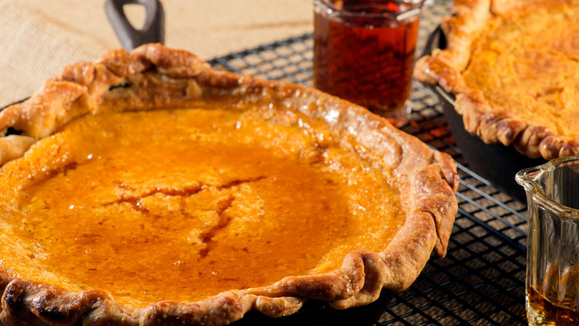 Rustic Carrot Pie
