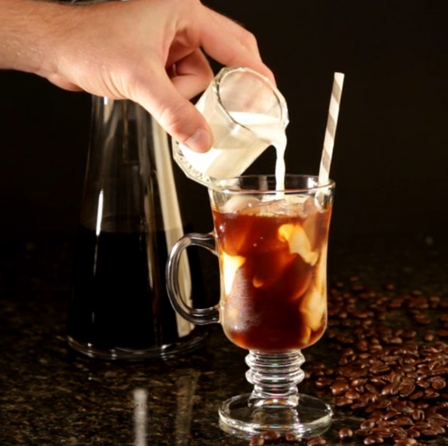 We're loyal fans of cold brew coffee because of the rich and bitter taste of coffee with a cool temperature. Prepare it and let it sit to brew overnight, and you're looking at a delicious and cooling treat.
