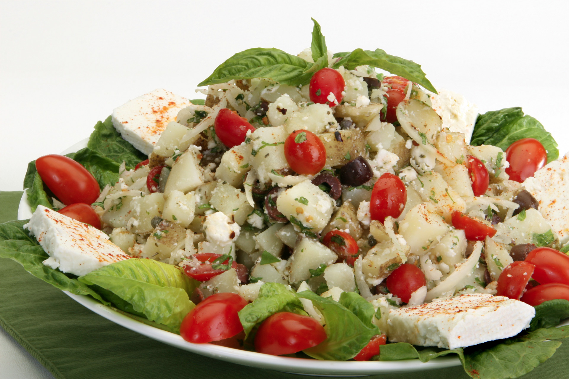 Feta, Tomato and Caper Potato Salad
