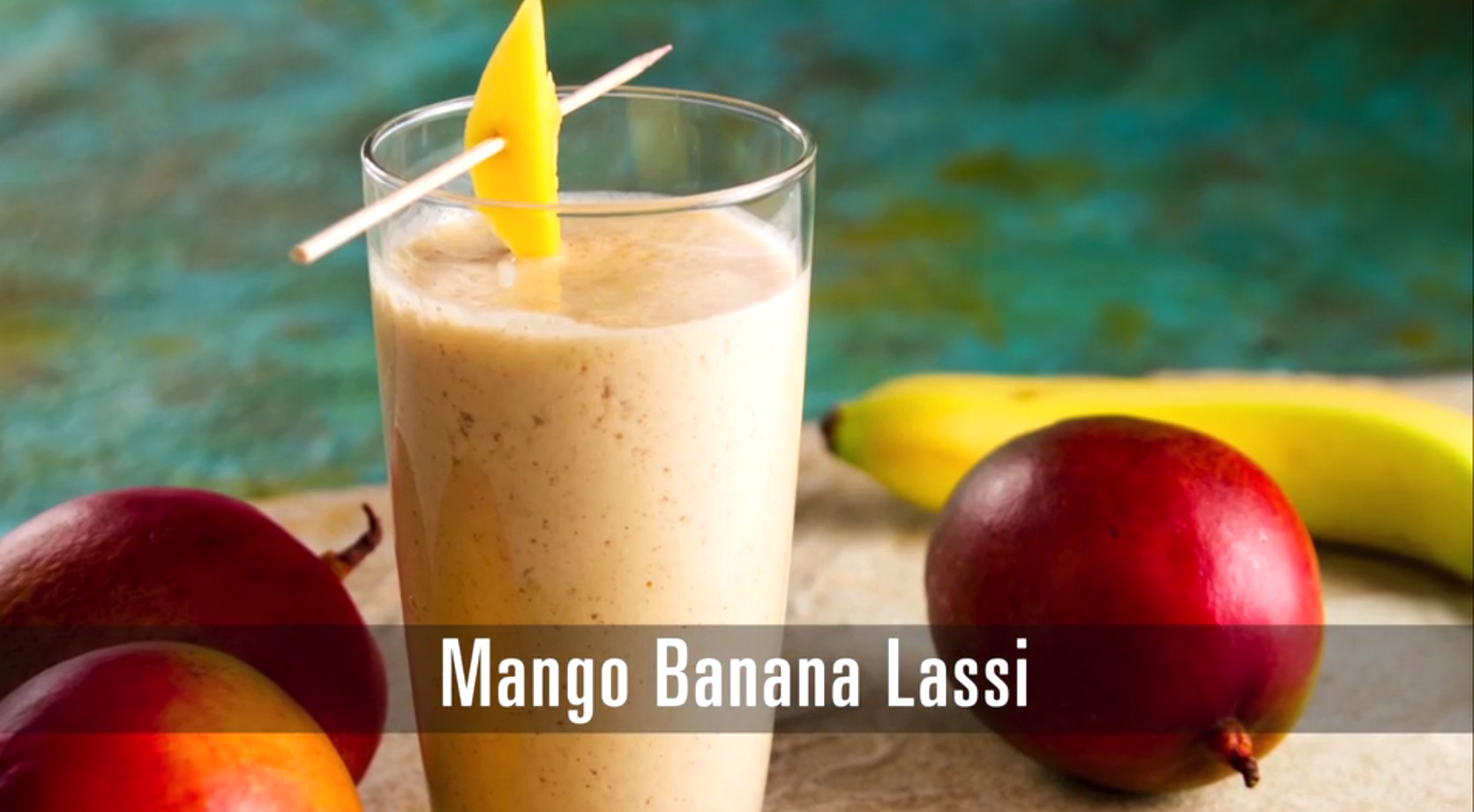 It's summertime, and that means everyone could use a fruit lassi to cool off with! This traditional Indian dessert combines fresh fruit, spices, and yogurt and then blends with ice to create a fruit smoothie.
