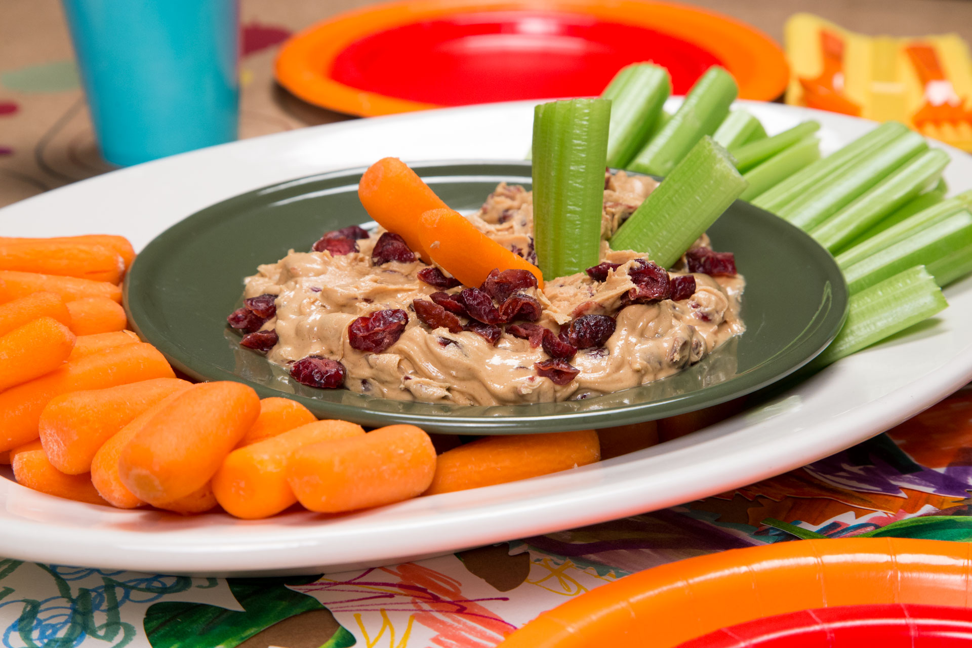 Cranberry Peanut Butter Dip// Photo by Lance Mellebruch