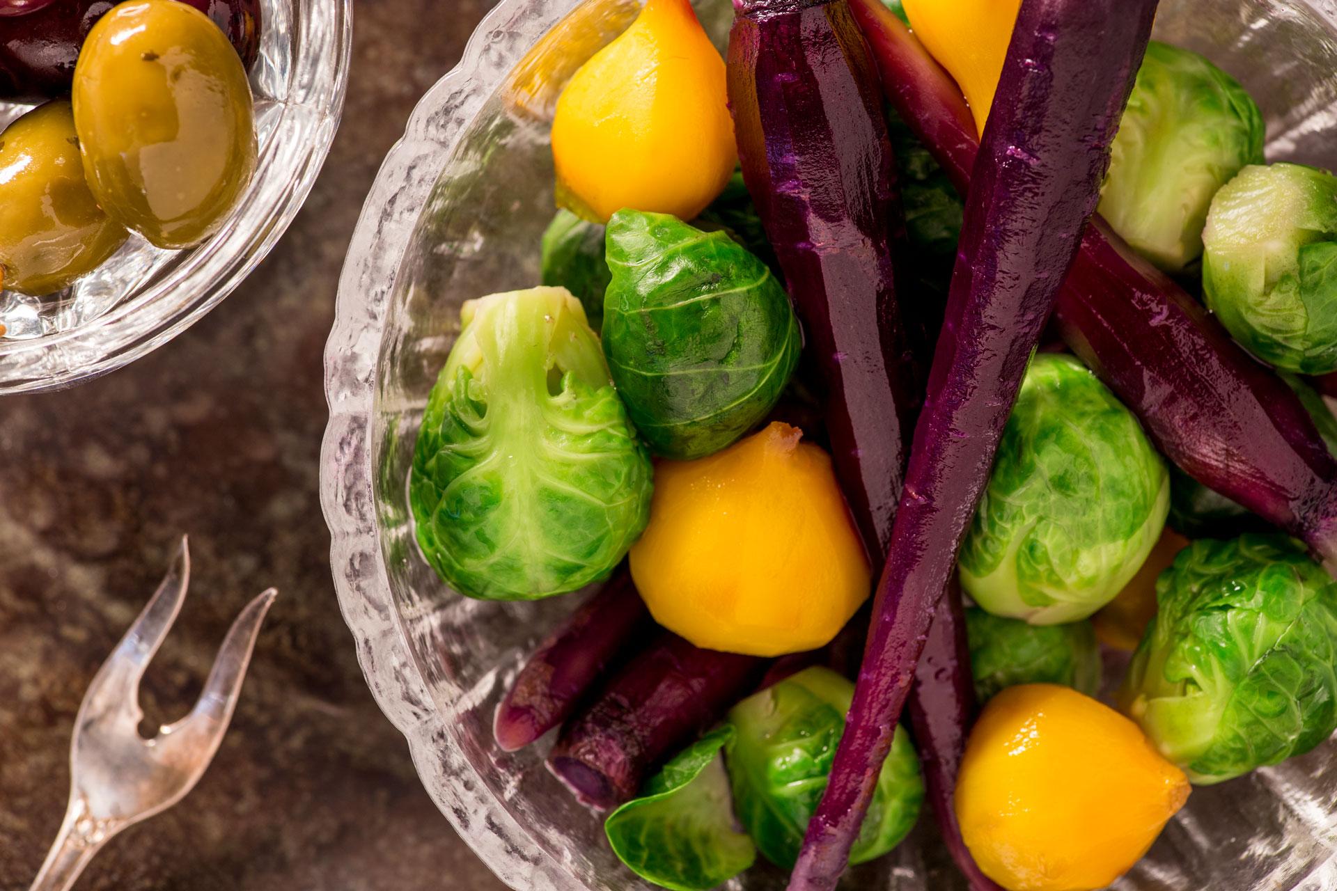 Pickled Autumn Vegetables