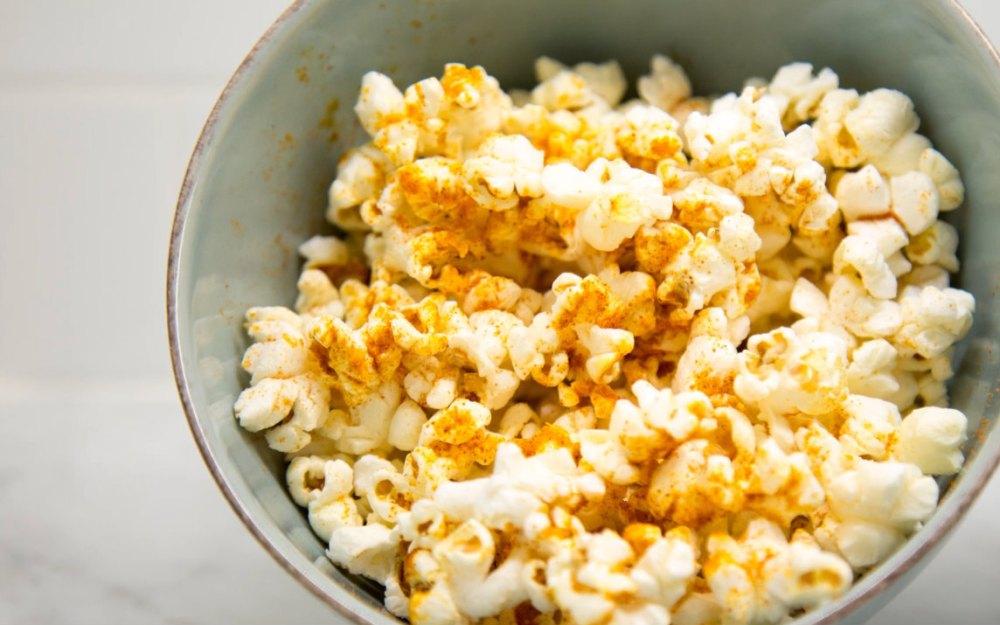 Gluten-Free Seasoned Popcorn.