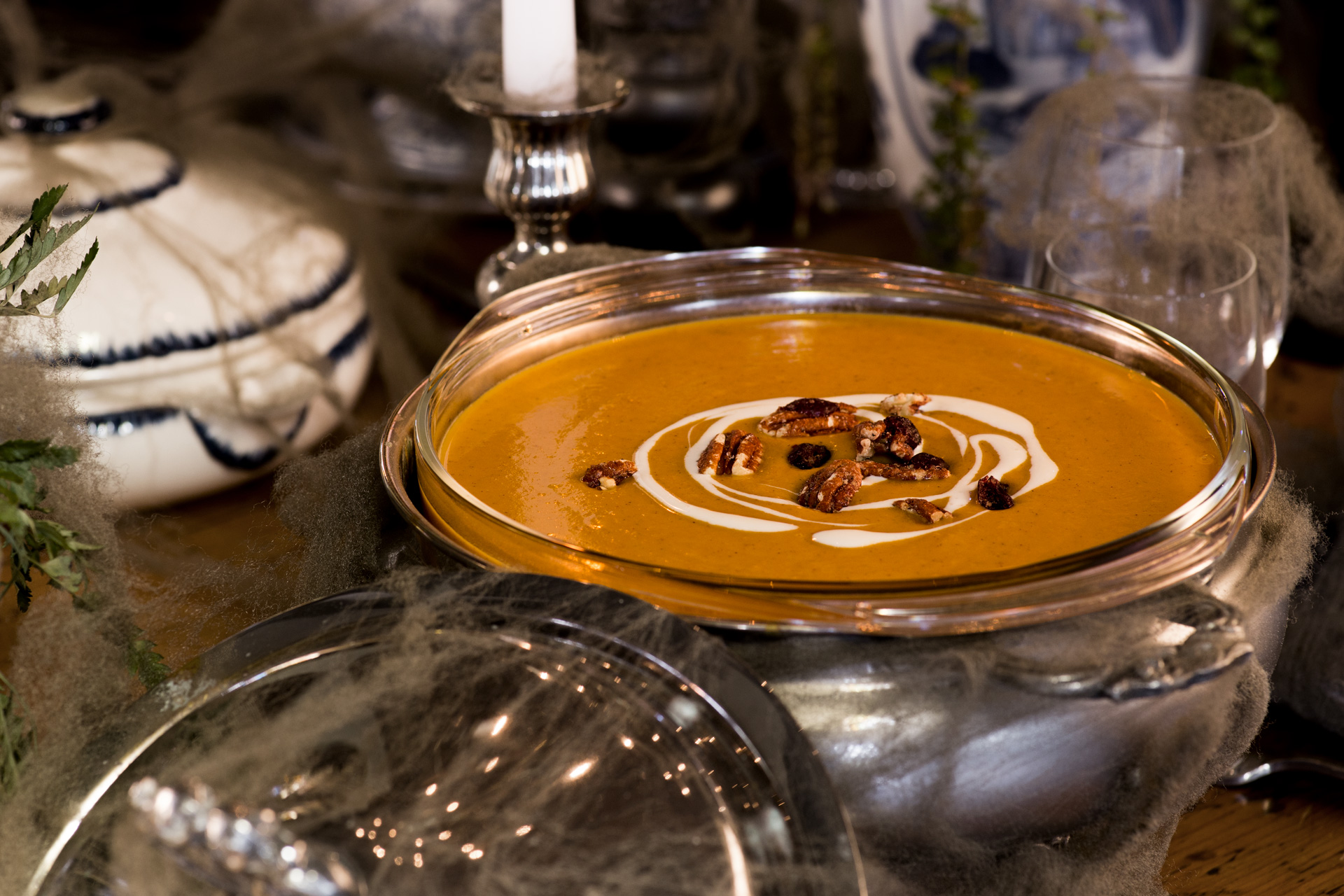 Roasted Sweet Potato Bisque