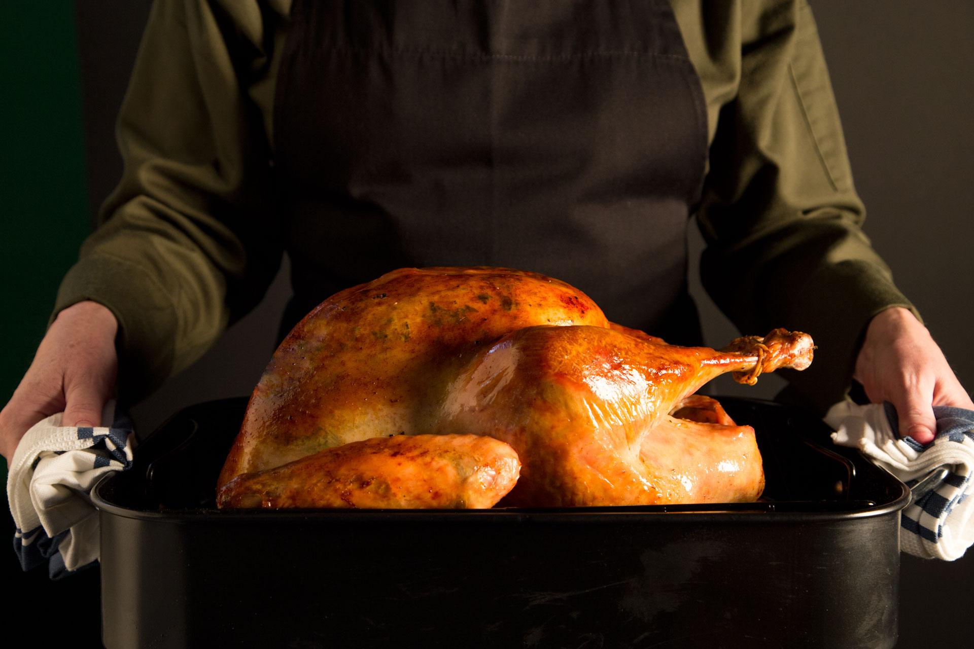 Sage Butter-Roasted Turkey
