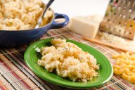 Baked White Cheddar Macaroni and Cheese recipe