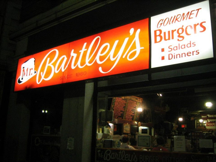 Mr. Bartley's Burger Cottage