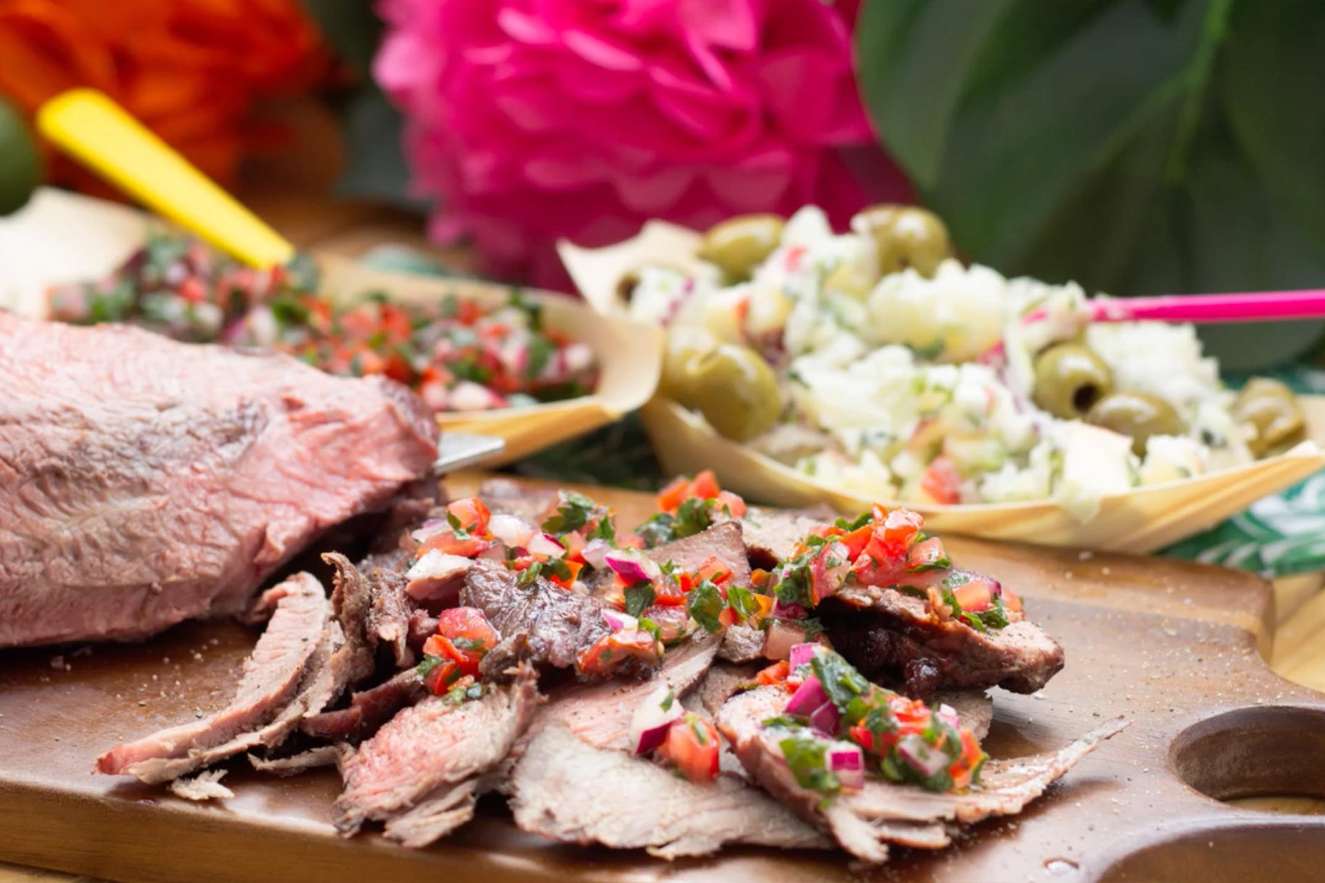 Brazilian-Style Barbecue Recipe with Potato Salad