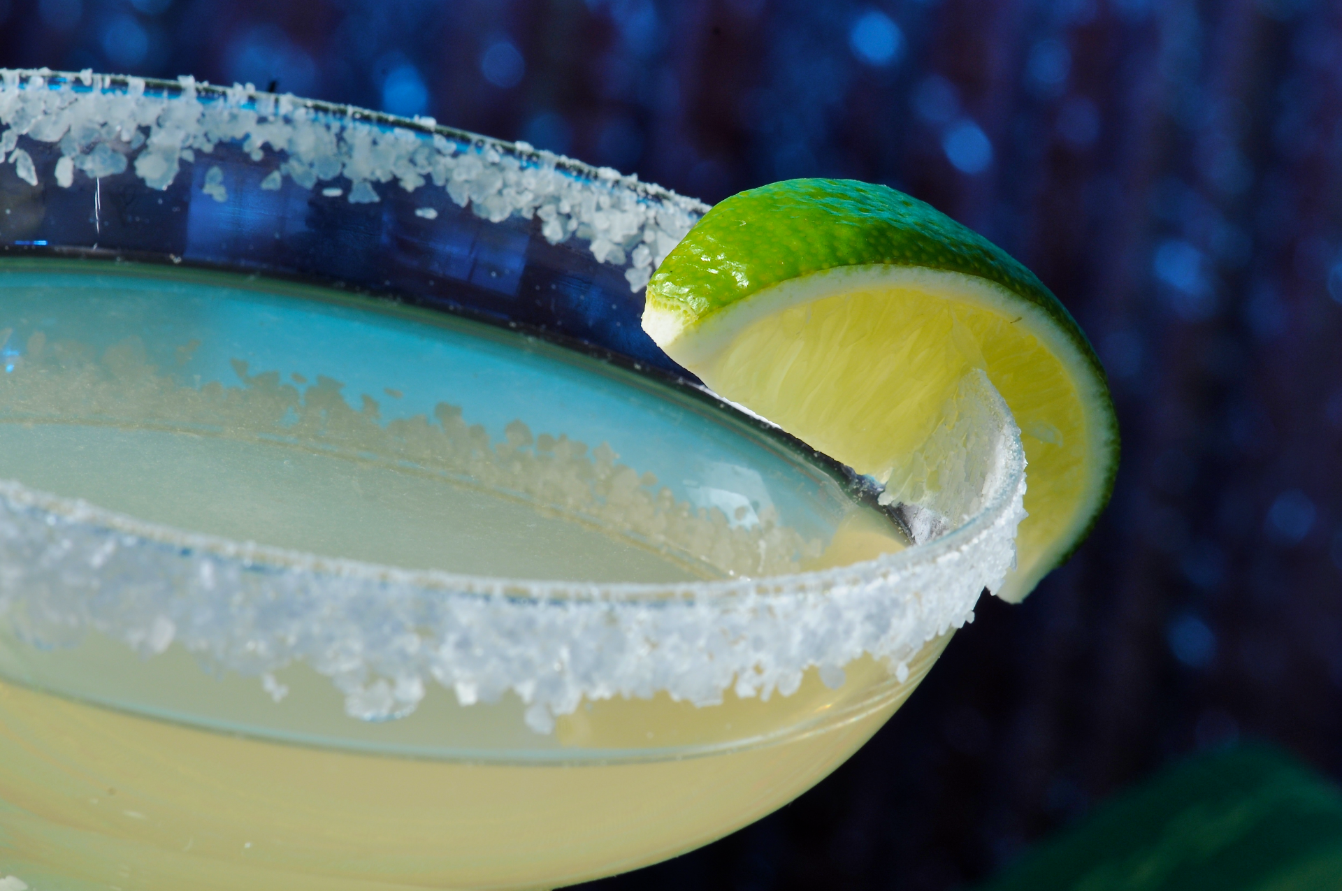 The margarita includes ingredients that should stimulate the four primary tastes: sweet, sour, salty and bitter. This recipe achieves a nice balance of these tastes.