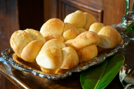 Buttery pull-apart rolls served fresh-baked hot from the oven! Pair these with the honey butter recipe below and you've got a beautiful presentation of dinner rolls.