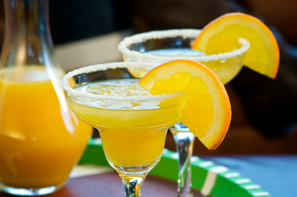 Freshly-made margaritas add a refreshing and spirited touch to any gathering—like having the gang over to celebrate!
