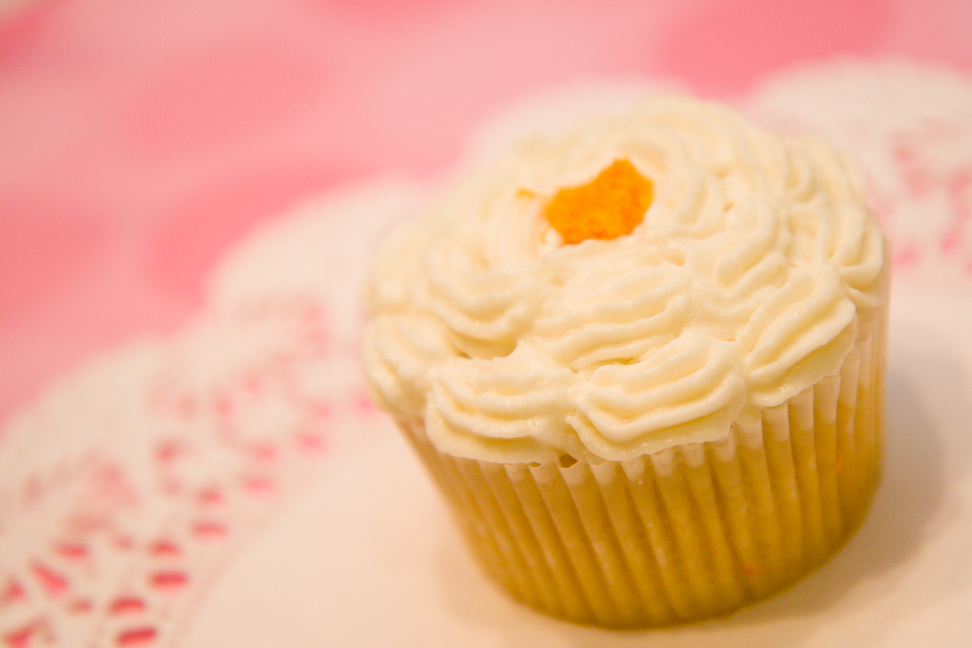 Recipe for Mimosa Cupcakes