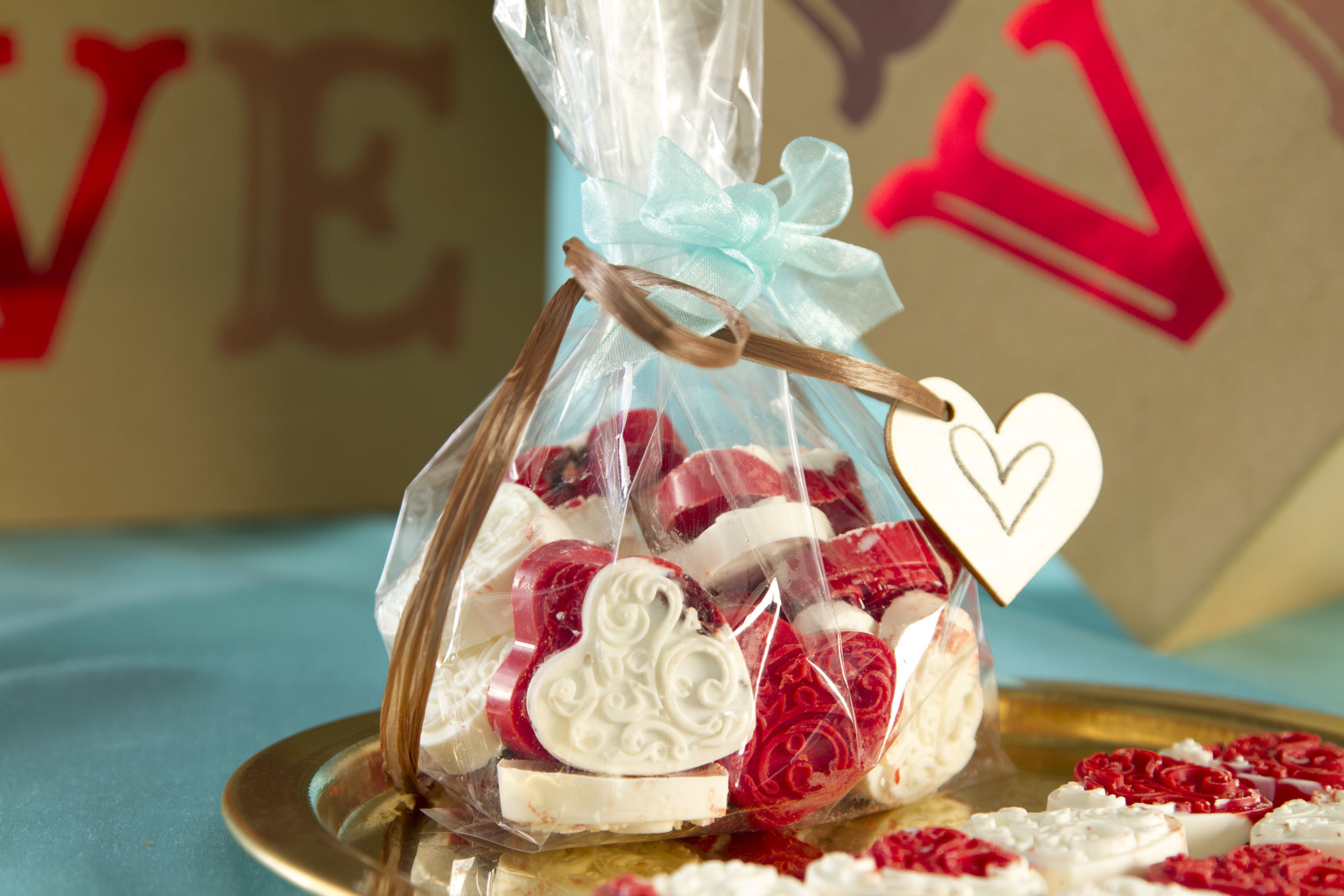 The easiest way to win a heart is to create one! With just two ingredients and any candy mold you desire, these Candy Hearts are an adorable DIY gift.