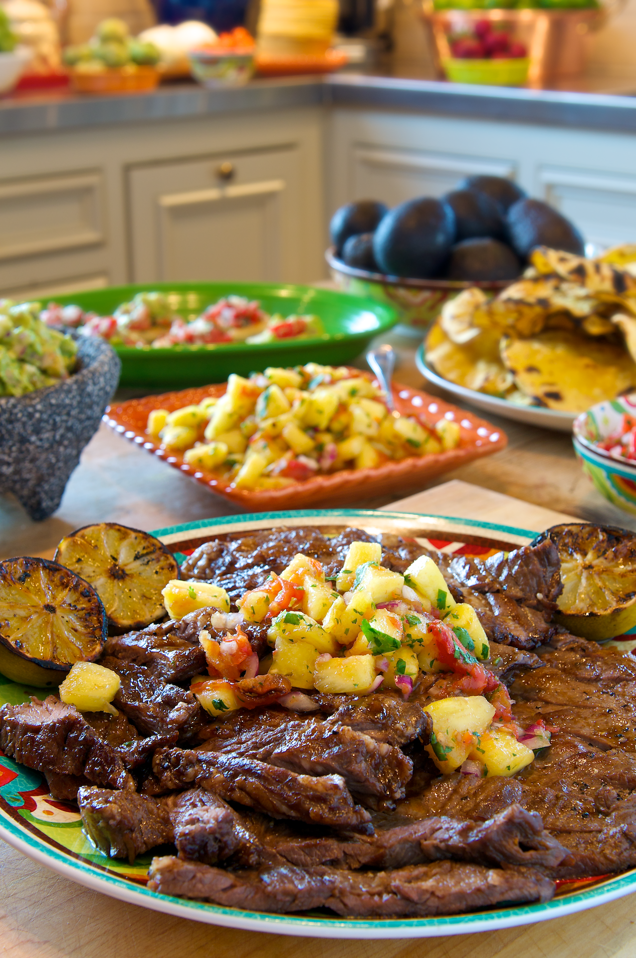 Pan sauces typically require wine to lift up the browned bits from pan-seared meats and vegetables. For a Cinco de Mayo twist, this recipe uses a dark beer, Negra Modelo, which works wonders with skirt steak.